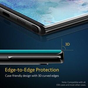 Image 2 - Esr 2 pçs protetor de tela para samsung galaxy note 10 vidro temperado cobertura completa película protetora para samsung note 10 plus 5g vidro