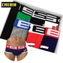 6 adet/grup seksi iç çamaşırı erkek Boxer Homme erkek iç çamaşırı Boxershorts erkek boksörler seksi Boxer şort 6 renk baskı Cueca külot
