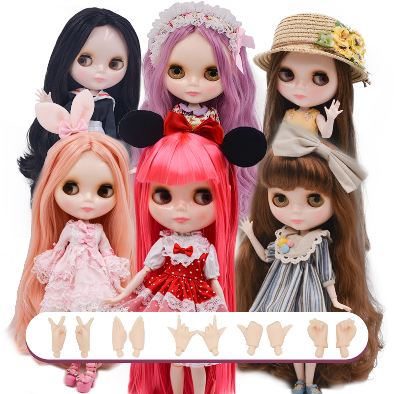 Neo Blyth Doll NBL Customized Shiny Face,1/6 BJD Ball Jointed Doll Ob24 Doll Blyth For Girl, Toys For Children NBL02