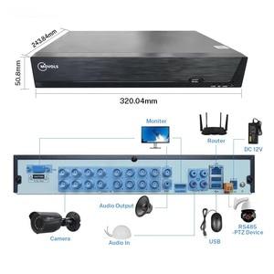 Image 3 - MOVOLS 5MP H.265 + אבטחת CCTV מערכת 16CH XVR מקורה חיצוני 16PCS 5MP עמיד למים HD CCTV מצלמה P2P מעקב מערכת סט