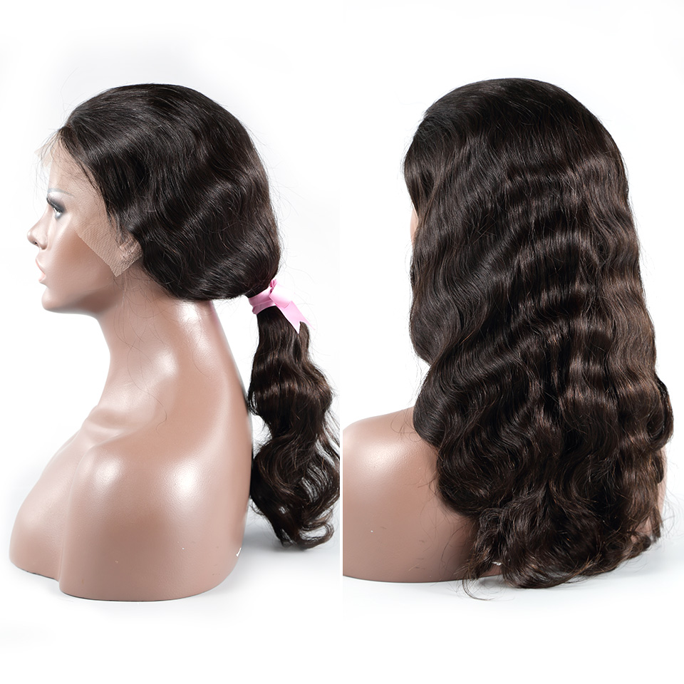 <font><b>Luvin</b></font> OneCut <font><b>Hair</b></font> Body Wave 20-34 inch Long 13x6 Glueless Lace Front Human <font><b>Hair</b></font> Wigs Pre Plucked Brazilian For Black Women image
