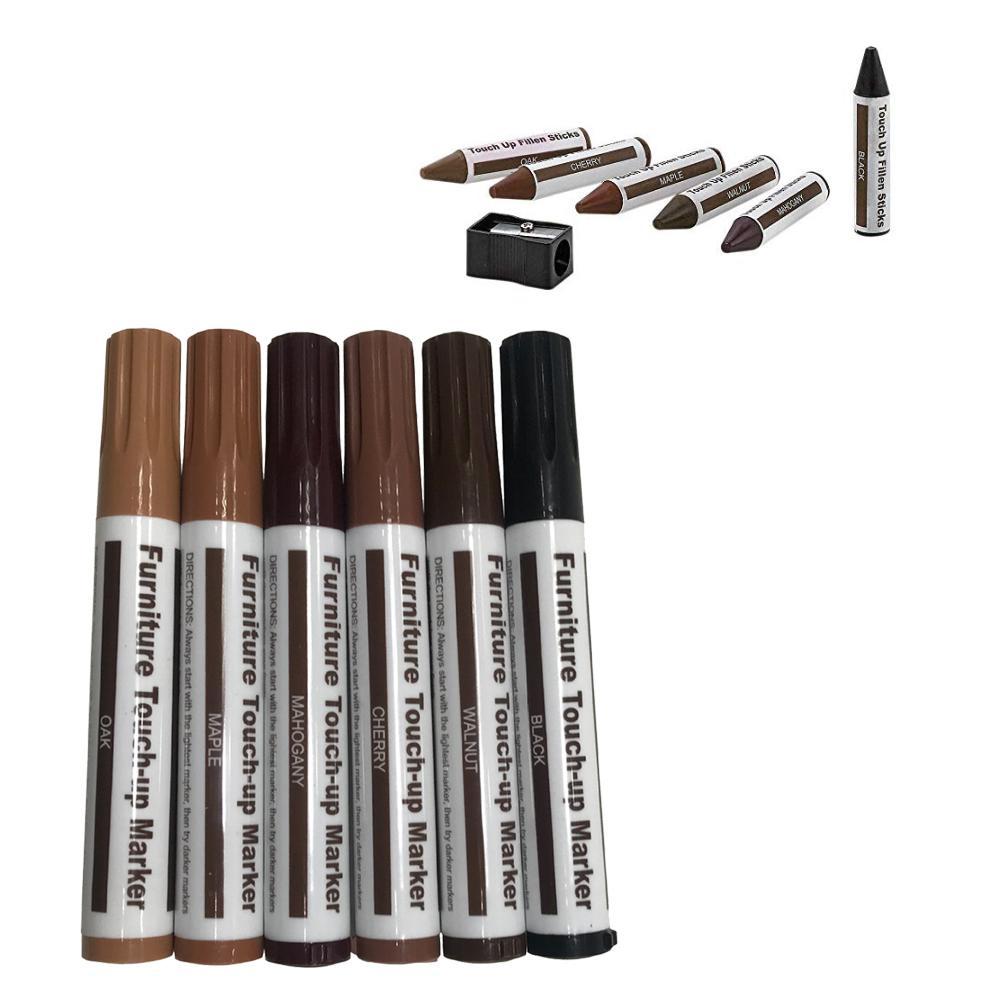 Furniture Repair Pen Markers Scratch Filler Paint Remover Wooden Floor Tables