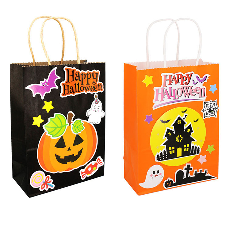 Kindergarten Lots Arts Crafts Diy Toys Puzzle Halloween Costume/bag Crafts Kids Educational For Children's Toys Girl/boy Gift 14