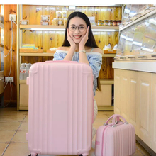 Cabin Trolley Case Luggage-Set Spinner Travel-Suitcase Women Wheels-20''carry Ons Student