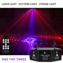 Disco Light Laser-Projector-Lights Controller Party-Show Effect-Lamp Wedding RGB