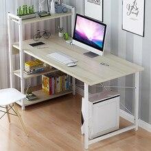 Mesa do portátil com prateleiras 57 Polegada canto mesa do computador com suporte da cpu, escritório em casa mesa de jogos workstation estudo escrita