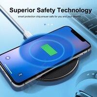 Caricabatterie Wireless Qi 10W per Samsung Galaxy A51 A71 A70 A50 A70s A50s A31 A21s A41Note 10 Plus 9 8 S20 pad di ricarica rapida USB