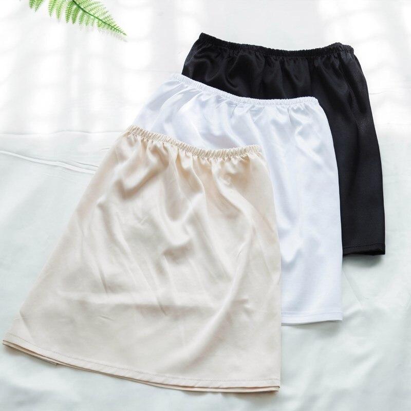 Short Skirt Inner Wearing Base Anti-through WOMEN'S Petticoat Half-length Skirt Lining Underwear Anti-Exposure Within Wear