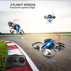 Image 2 - Mini Drone Fernbedienung Eders RC Quadcopter Hubschrauber Quadrocopter 2,4G 6 Achsen gyro Micro Mit Headless Modus Halten Höhe