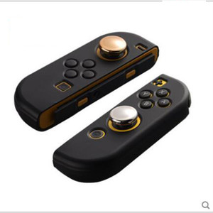 Image 2 - Chrome Plating Thumb Grips Cover for Nintend Switch NS Lite Joy Con Analog Stick Cap for Nintendo Switch Lite 2019 Joystick Grip