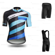 2019 Summer Cycling Clothing Pro Men Cycling Set Bike Clothing Breathable Anti-UV Bicycle Wear/Short Sleeve Cycling Jersey Sets(China)