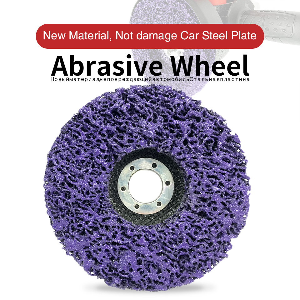 Wheel-Paint Strip-Disc Grinding-Wheels Angle-Grinder Rust-Remover Abrasive Clean 125mm