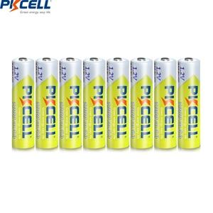Image 3 - 4/8 adet PKCELL AAA NIMH şarj edilebilir pil 3A 1000mah 1.2V NI MH AAA pil piller şarj edilebilir aaa up 1000 çember times