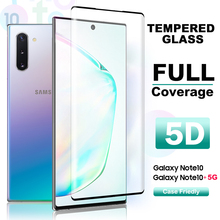 Tempered Glass For Samsung Galaxy Note 10 plus Screen Protector Full Cover 9H Glass Film For Note 10 Glass Protector Film стоимость