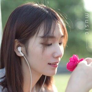 Image 2 - Auricolare cablato auricolare In ear auricolari auricolari bassi per IPhone Samsung Huawei Honor Xiaomi 3.5mm Sport cuffie da gioco con microfono