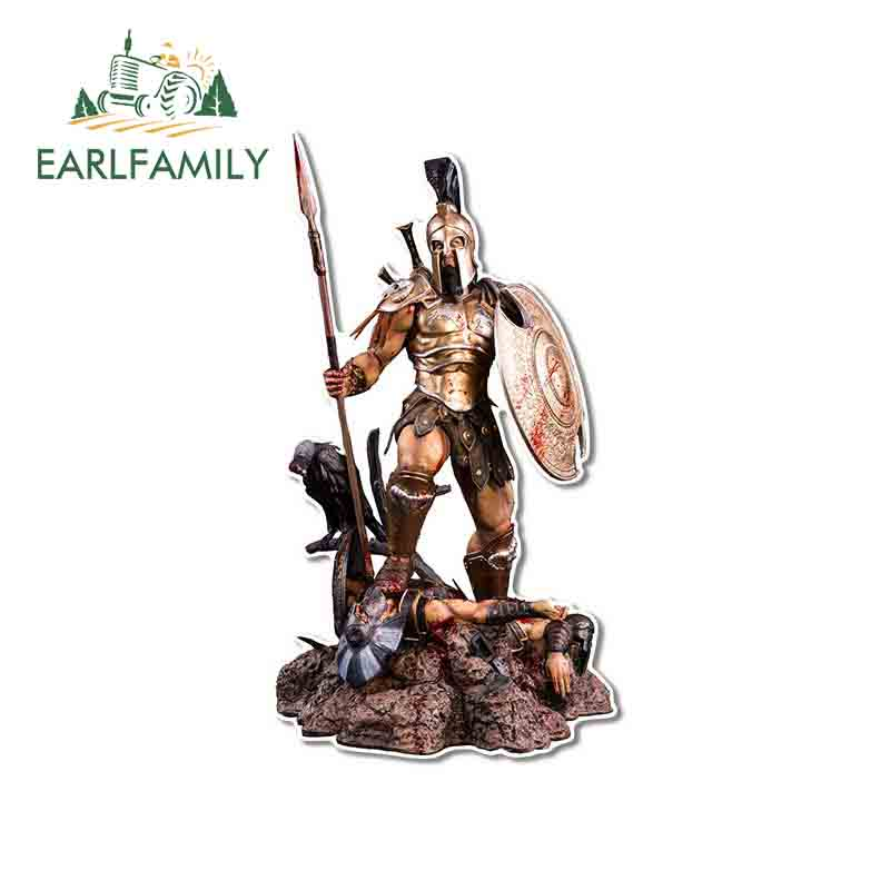 EARLFAMILY 13cm x 7cm per Olympus God of War Apec Cartoon Decal personalità adesivi per auto personalità moto vinile Car Wrap