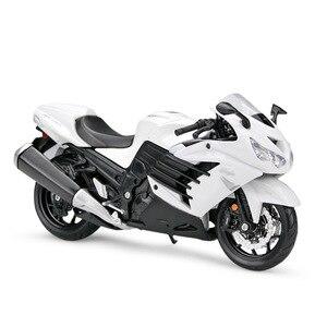 MAISTO 1/12 весы классический мотор серии Kawasaki Ninja ZX-14R литья под давлением Металл мотоциклов Модель игрушки для подарка или ребенка оплачивается...