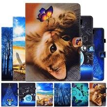 Чехол для samsung galaxy tab a7 104 дюйма 2020 с рисунком кошки