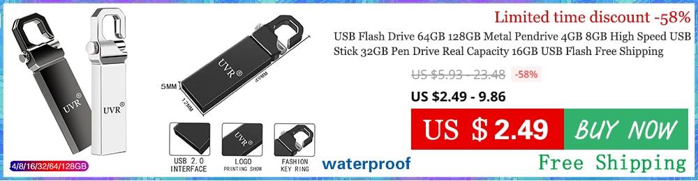 USA 100PCS 4GB Metal Key USB 2.0 Flash Drive Flash Memory Stick Print Logo Drive