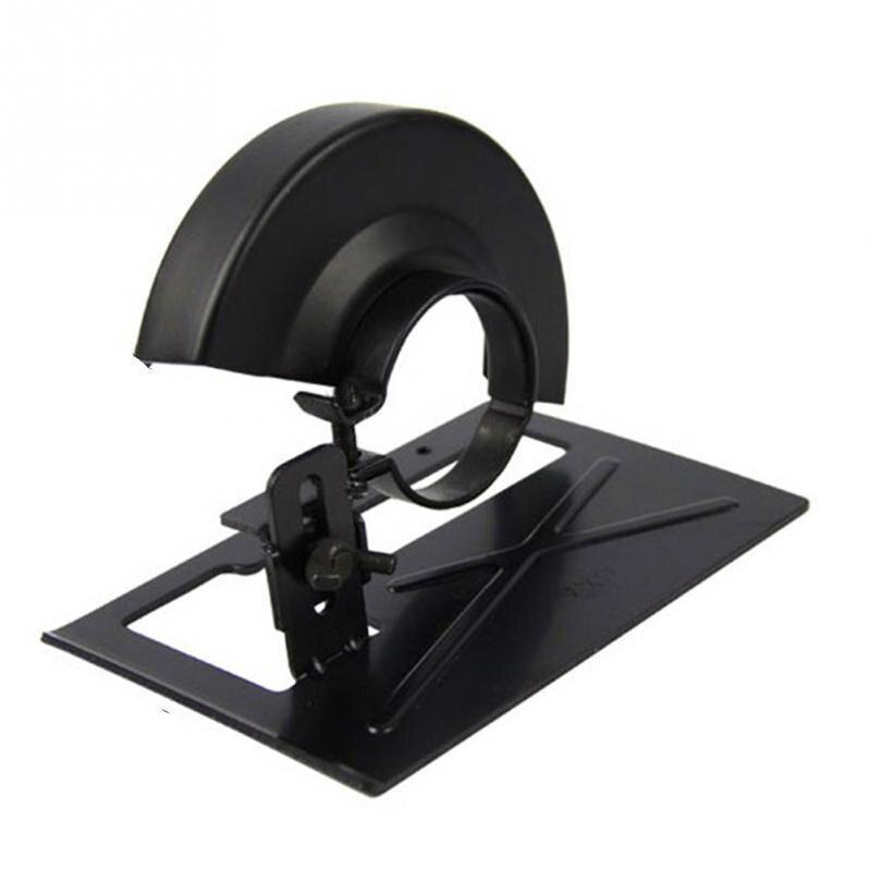 Grinder Kit Basis Halterung Schutz Maske Winkel Grinder Schneiden Maschine Teile Holzbearbeitung Metall Power Schleifen Werkzeuge