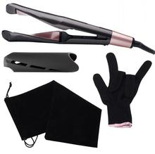 Professional 2 in 1 Twist Hair Curling & Straightening Iron Hair Straightener Hair Curler Wet & Dry Flat Iron Hair Styler free