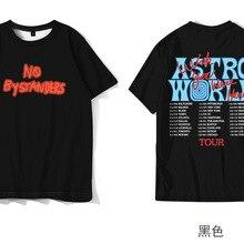 Astroworld TShirt Men Women Travis Scott Tour Vegas Vetements Hip Hop Top Tee ASTROWORLD Wish You We