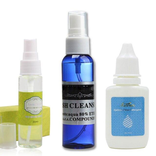 Professional Eyelash Cleaner Primer False Eyelash Extension Clean Liquid Eye Lashes Planting Eyelash Grafting Cleanser