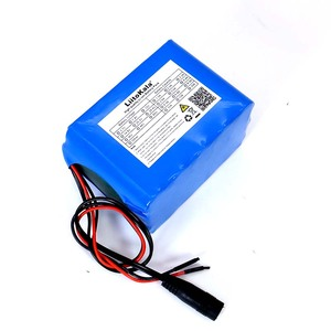 Image 3 - Liitokala Protection 12V 10ah 18650 lithium Rechargeable battery 12v 10000mAh for Monitor emergency lights +12.6v 3A Charger