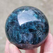 1 шт., натуральный apatite кварцевая Сфера, хрустальный шар, восстанавливающий