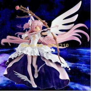 Image 3 - anime good smile puella magi madoka magica kaname madoka maiko ver 1/8 scale pvc action figure giant doll 33cm Toy