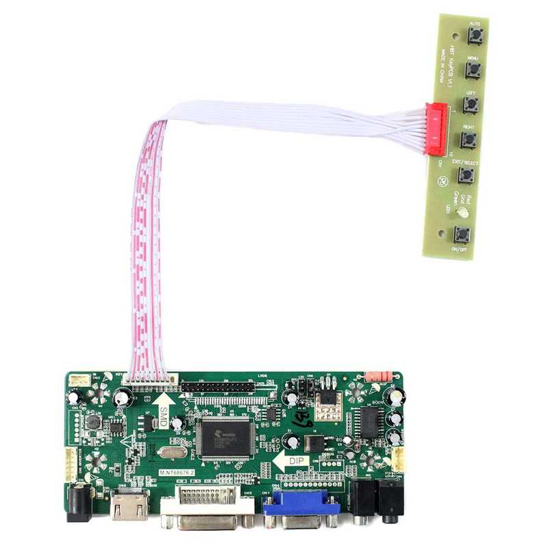 HDMI Audio LCD Controller Board Cocok untuk Arcade 1Up DIY Parts 17 Inch M170Etn01.1 Wyd170Skd01 LCD Monitor