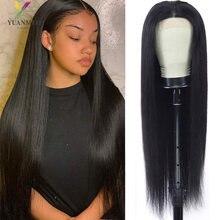 Парики из прямых человеческих волос 10 26 дюймов для чернокожих