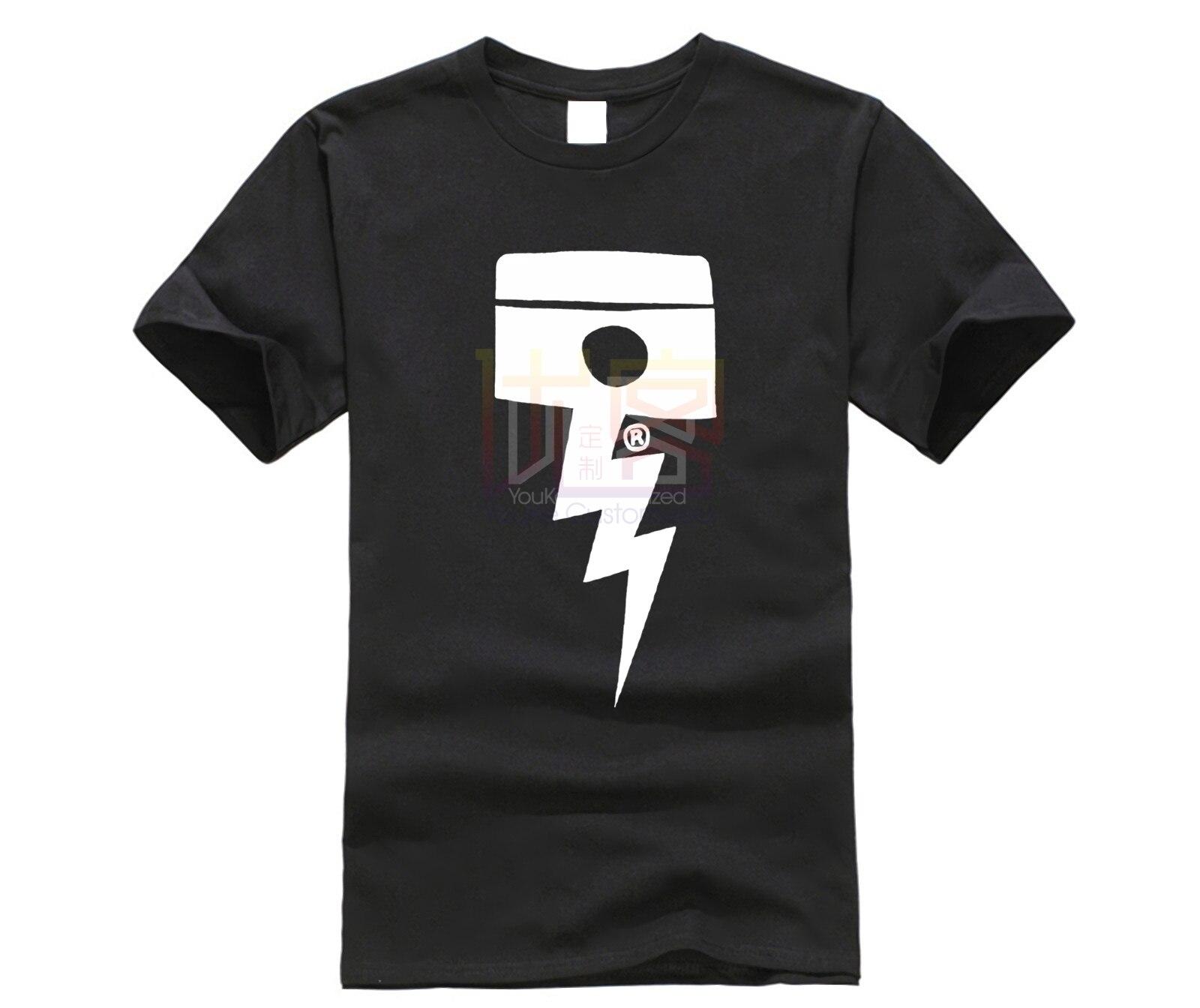 DEUS EX MACHINA PISSTIN T-SHIRT - BLACK 100% Cotton Clothing Short Sleeve Tees Cool Street T-Shirt Casual Short Sleeve Top