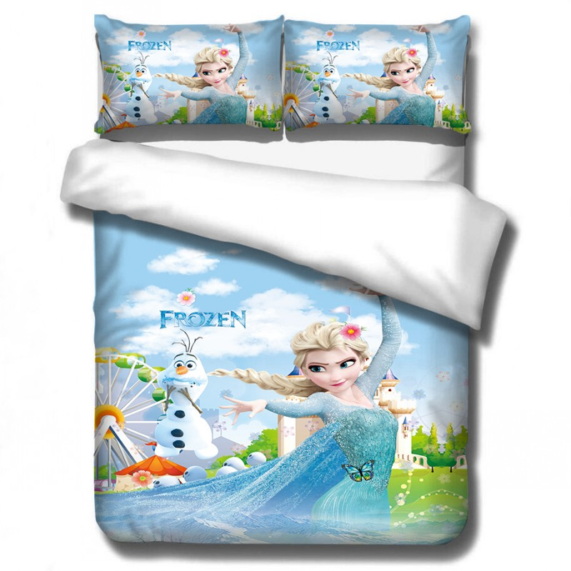 disney dos desenhos animados congelados princesa conjuntos 04