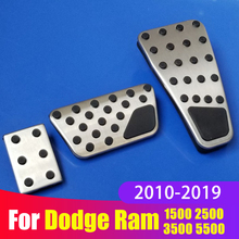 Car Accelerator Gas Pedal Brake plate Pedal Cover For Dodge Ram 1500 Classic 2500 3500 4500 5500 2010-2015 2016 2017 2018 2019 tricolour 2pcs h15 7070 headlight with led bulb low beam for dodge ram 1500 2500 3500 4500 5500 2 2 2013 2014 2015 td004