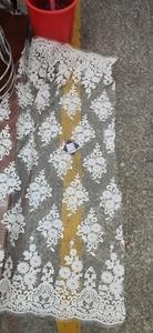 Image 5 - Bianco Ultime Nigeriano Tulle Del Merletto 2020 Francese Netto Tull Tessuto Del Merletto Per La Cerimonia Nuziale Nigeriano Africano Del Merletto Del Ricamo Tessuto L G006