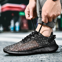 Men Sneakers Breath Jogging for Men Sports Running Shoes Fly Weave Mens Trainers Walking Sport Gym Shoes Men Zapatillas Hombre new genuine leather cow shoes men sport running shoes breathable jogging walking mens trainers walking chaussures hombre femme