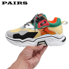 Fashion Sneakers Women Platform Shoes 2019 New Wome