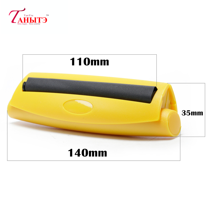 110mm Portable Cigarette Rolling Machine Joint Cone Roller Manual Maker DIY Tool Plastic Manual Tobacco Smoking Rolling Papers 5