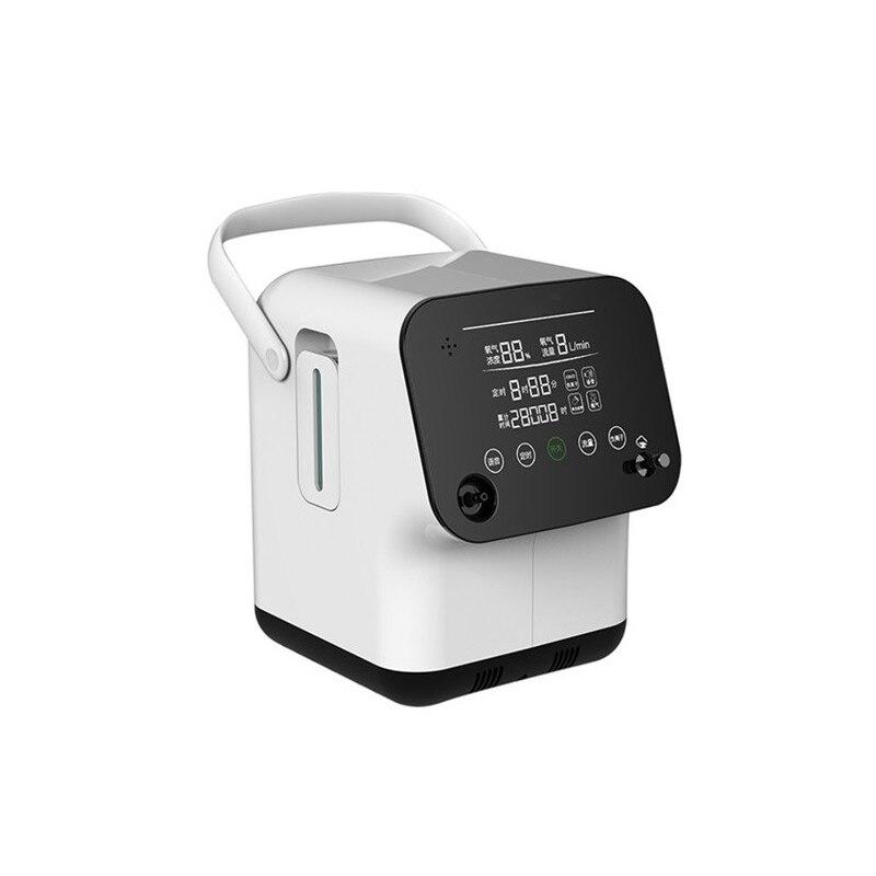 Household Oxygen Making Machine 220V 1-7L Flow Adjustable Elderly Oxygen Machine Pregnant Portable Oxygen Making Machine ZY-2AW
