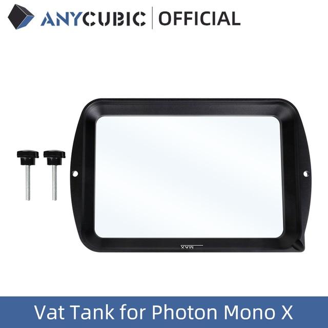 ANYCUBIC UV Resin Vat Tank for Photon Mono X, 3D Printers Accessories, Material Rack, 3D Printer Parts, impresora 3d 1