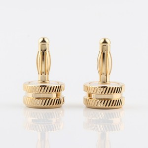 Image 3 - Hifi audio 8pcs CA705 gold plated Noise Stopper Amplifier Terminal Binding Post Caps