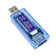 Testeur de charge USB, médecin et tension, voltmètre, ampèremètre, testeur de capacité de batterie, détecteur de puissance Mobile