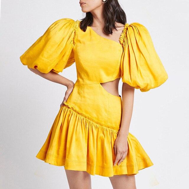 2021 New arrive V-neck women summer dress 2