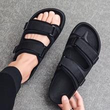 New 2020 Summer EVA Massage Fashion Sandals Mens Flip Flops Casual Solid Breathable Men Sandalias Hombre Beach Slippers For Man