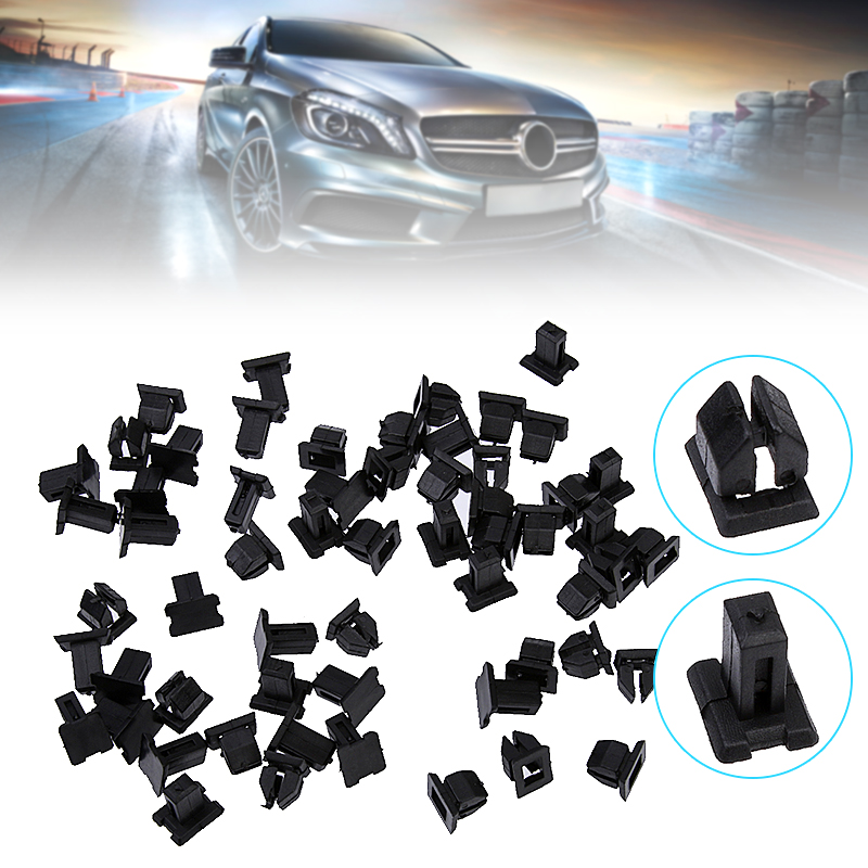10x Fastening Clips Lower Cover Strip Door for Mercedes CLK SLK E-class