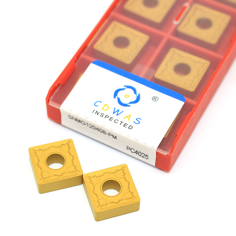 SNMG120408-MS LF6018 lathe insert cutting tool carbide turning For steel 10pcs