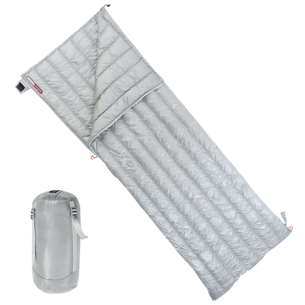 Sleeping Bag Natural Down Sleeping Bag Envelope Lightweight Portable Fluffy Sleeping Bag for Outdoor Camping Travelling - 2