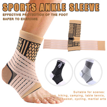 High Elastic Compression Ankle Bandage Brace Support for Sports Basketball Soccer can CSV tama sg52kh6 csv stagestar