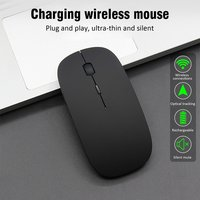 Wireless Mouse Computer Mouse Silent PC Mause Rechargeable Ergonomic Mouse 2.4Ghz USB Optical Mice For Laptop PC|Mice| |  -